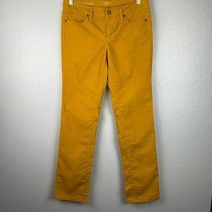 Ann Taylor Loft Mustard Yellow Cords